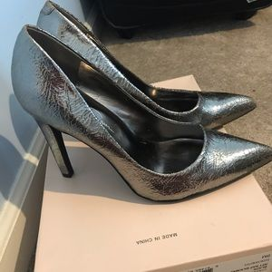 Jessica Simpson Shoes - Jessica Simpson  Silver heels